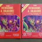 Dungeons and Dragons Through The Ages: First Edition